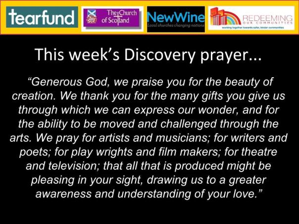 30th March - Discovery Prayer